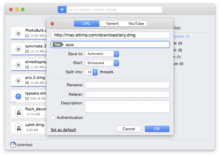 Why you need to use Folx, a download manager Mac
