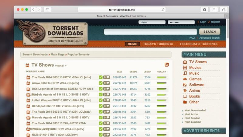 Find out the best torrent site for Mac to download torrents